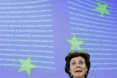 <p>Il commissario europeo alla Concorrenza Neelie Kroes REUTERS/Yves Herman</p>