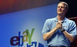<p>Il presidente e AD di eBay, John Donahoe REUTERS/Frank Polich</p>