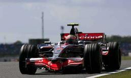 <p>Il pilota di Formula Uno della McLaren, Heikki Kovalainen. REUTERS/Andrew Winning (BRITAIN)</p>