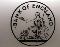 <p>Il logo della Bank of England. REUTERS/Luke MacGregor (BRITAIN)</p>