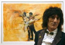 <p>Ronnie Wood dei Rolling Stones REUTERS/Luke MacGregor</p>