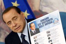 <p>Silvio Berlusconi REUTERS/Remo Casilli</p>