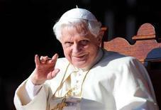 <p>Papa Benedetto XVI REUTERS/Dean Lewins/Pool</p>