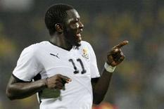 <p>Il calciatore Sulley Muntari. REUTERS/Luc Gnago</p>