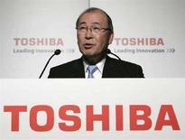 <p>Atsutoshi Nishida, presidente e AD di Toshiba. REUTERS/Michael Caronna (Giappone)</p>
