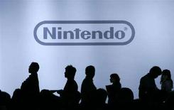 <p>Una conferenza stampa di Nintendo a Chiba. REUTERS/Yuriko Nakao (JAPAN)</p>