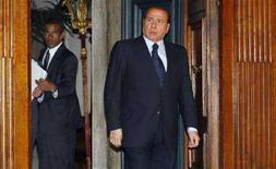 <p>Il presidente del Consiglio Silvio Berlusconi. REUTERS/Remo Casilli (ITALY)</p>