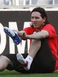 <p>L'attaccante argentino del Barcellona Lionel Messi. REUTERS/Albert Gea (SPAIN)</p>