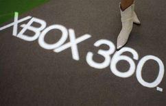 <p>Una presentazione della Xbox 360 a Tokyo. REUTERS/Issei Kato</p>