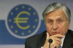 <p>Jean-Claude Trichet, presidente della Bce REUTERS/Alex Grimm</p>