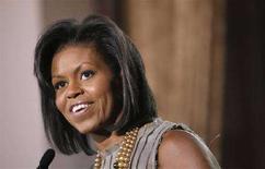 <p>Michelle Obama, moglie del candidato dei Democratici alla presidenza degli Stati Uniti Barack Obama. REUTERS/Eric Thayer</p>