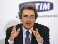 <p>L'AD di Telecom Italia Franco Bernabe. REUTERS/Jamil Bittar</p>