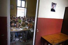 <p>Un'immagine di archivo di studenti della scuola elementare. REUTERS</p>