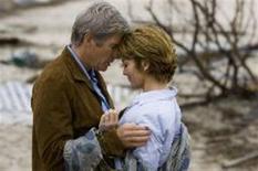 """<p>Foto de divulgação dos atores Richard Gere e Diane Lane em cena do filme """"Noites de Tormenta"""". REUTERS/Michael Tackett/Warner Bros./Divulgação</p>"""