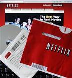 <p>Un noleggio di dvd da Netflix REUTERS/Brian Snyder/Files</p>