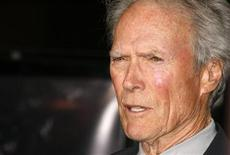"<p>Actor Clint Eastwood is interviewed as he arrives at a screening celebrating the DVD box set release of the ""Dirty Harry"" film franchise in Los Angeles May 29, 2008. REUTERS/Fred Prouser</p>"