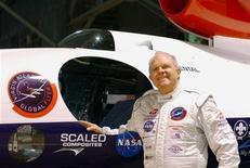 <p>Un'immagine del miliardario avventuriero Steve Fossett. REUTERS/ Dave Kaup/Files</p>