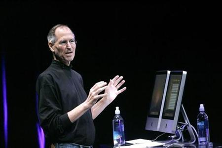 Apple Inc CEO Steve Jobs speaks at Apple's ''Let's Rock'' media event in San Francisco, California September 9, 2008. REUTERS/Robert Galbraith