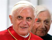 <p>Papa Benedetto XVI . REUTERS/Andreas Gebert</p>