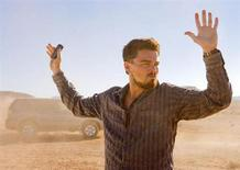 "<p>Leonardo DiCaprio in a scene from ""Body of Lies"". REUTERS/Warner Bros./Handout</p>"