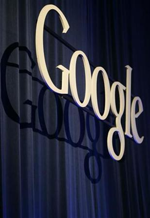 A Google sign is seen at its headquarters in Mountain View, California May 22, 2008. REUTERS/Robert Galbraith