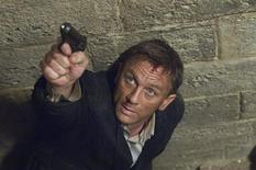 "<p>Actor Daniel Craig is pictured in this undated publicity photo from a scene of the new James Bond film ""Quantum of Solace"" released to Reuters October 22, 2008. REUTERS/Susie Allnutt/Sony Pictures Entertainment/Handout</p>"