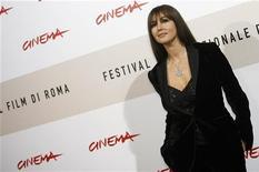 """<p>Monica Bellucci al Festival di Roma per la presentazione de """"L'Uomo che ama"""". REUTERS/Dario Pignatelli</p>"""