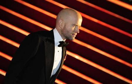 Director Marc Forster arrives for the world premiere of the latest James Bond movie ''Quantum of Solace'' at Leicester Square in London October 29, 2008. REUTERS/Dylan Martinez