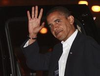 <p>Il neopresidente degli Stati Uniti Barack Obama. REUTERS/Jason Reed</p>