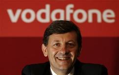 <p>L'amministratore delegato di Vodafone, Vittorio Colao. REUTERS/Andrew Winning (BRITAIN)</p>