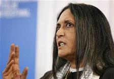 """<p>Director Deepa Mehta attends the """"Heaven on Earth"""" news conference at the 33rd Toronto International Film Festival September 6, 2008. REUTERS/ Mike Cassese</p>"""