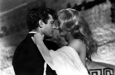 "<p>Actors Marcello Mastroianni (L) and Anita Ekberg perform a scene in Federico Fellini's epic film ""La Dolce Vita"" which came out in 1960. Fellini's classic film ""La Dolce Vita"" is approaching the half-century mark and the director's hometown is pulling out the stops to give it a Felliniesque two-year-long international birthday bash. REUTERS/Reporters Associati and Cineteca di Bologna/Handout</p>"