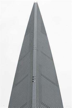 Shanghai World Financial Centre building is pictured in Shanghai August 29, 2008. REUTERS/Aly Song