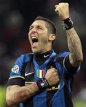<p>L'interista Marco Materazzi. REUTERS/Alessandro Garofalo ( ITALY )</p>