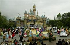 <p>File photo shows the Disneyland theme park in Anaheim, California, May 5, 2005. 1955. REUTERS/Fred Prouser</p>