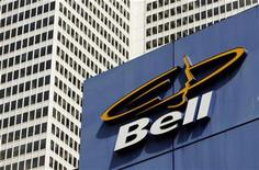 <p>A Bell retail store is seen in downtown Montreal in this June 21, 2007 file photo. BCE said on Wednesday that its accounting firm had determined that the parent of Bell Canada would not meet solvency tests necessary to proceed with its C$34.8 billion proposed leveraged buyout. REUTERS/Shaun Best</p>