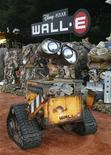 "<p>An animatronic robot of character Wall-E is pictured at the world premiere of Disney-Pixar's film ""Wall-E"" in Los Angeles, California June 21, 2008. REUTERS/Fred Prouser</p>"