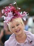 <p>Ivana Trump arrives for Ladies Day on the third day of the Royal Ascot horse racing meet June 21, 2007. REUTERS/Toby Melville</p>