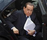 <p>Sky, Berlusconi apre a revoca aumento Iva a 20% in dl anti crisi. REUTERS/Yves Herman</p>