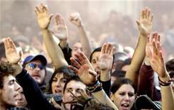 <p>Una protesta studentesca a Roma REUTERS/Max Rossi</p>