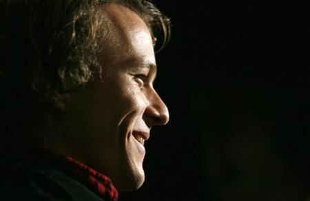 File photo shows the late Heath Ledger in New York November 6, 2006. REUTERS/Eric Thayer