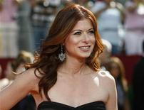 <p>Debra Messing arrives at the 60th annual Primetime Emmy Awards in Los Angeles September 21, 2008. REUTERS/Mario Anzuoni</p>
