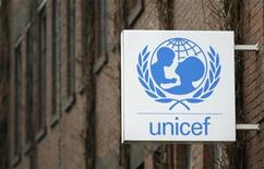 <p>Il logo dell'Unicef. REUTERS/Ina Fassbender (GERMANY)</p>