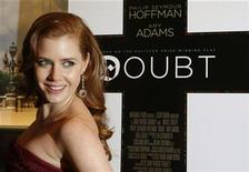 "<p>Amy Adams arrives for a screening of the film ""Doubt"" in New York December 7, 2008. REUTERS/Lucas Jackson</p>"