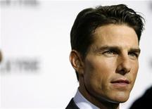 """<p>El actor Tom Cruise a su llegada al estreno del filme """"Valkyrie"""" en Nueva York, EEUU, 15 dic 2008. Tras un año de tira y afloje en Alemania rodeando la cinta del actor Tom Cruise sobre la Segunda Guerra Mundial """"Valkyrie"""", la crítica local ha aceptado la versión final del filme. REUTERS/Lucas Jackson</p>"""