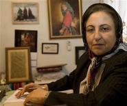 <p>Shirin Ebadi, vincitrice del premio Nobel per la Pace nel 2003, immagine d'archivio. REUTERS/Steve Crisp (IRAN)</p>