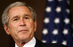 <p>U.S. President George W. Bush speaks about conservation and the environment in Washington January 6, 2009. REUTERS/Kevin Lamarque</p>