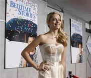 "<p>Australian actress Teresa Palmer arrives for the premiere of her new film ""Bedtime Stories"" starring Adam Sandler in Hollywood, California December 18, 2008. REUTERS/Fred Prouser</p>"