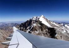 <p>Il monte Aconcagua. REUTERS</p>