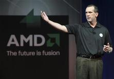 <p>Dirk Meyer, direttore generale di Amd. REUTERS/Steve Marcus (UNITED STATES)</p>